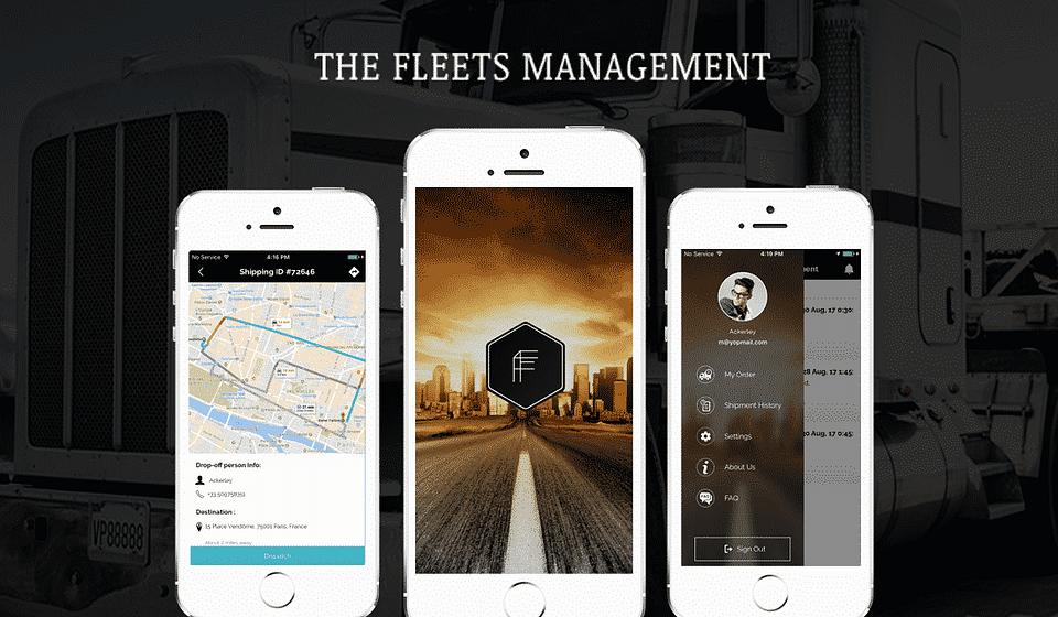 The Fleets Management App