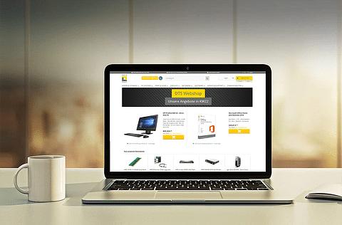 Enterprise B2B Suite Shop für DTS Systeme