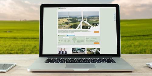 TYPO3 für erneuerbare Energie mit Zukunft - Webanwendung