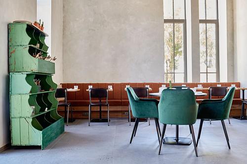Aménagement Restaurant - Le Victor - Design & graphisme