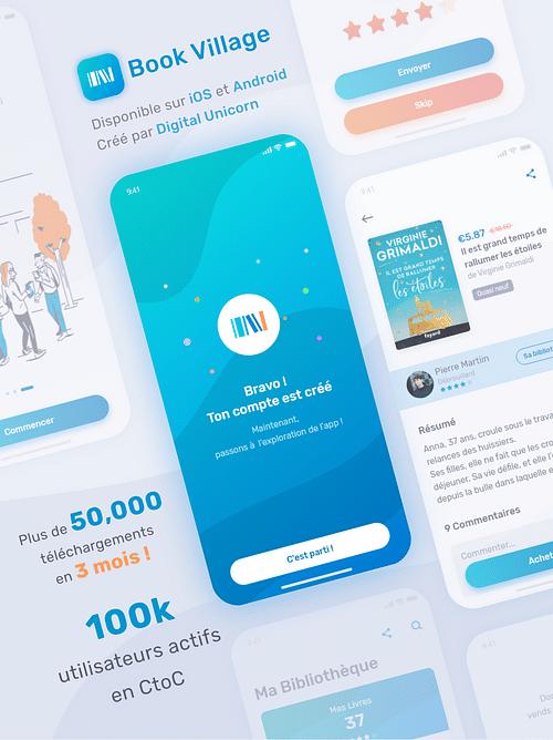 Book Village - Application mobile