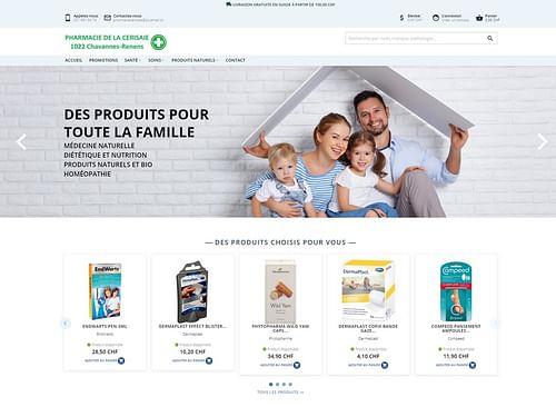 Pharmacie de la Cerisaie - E-commerce