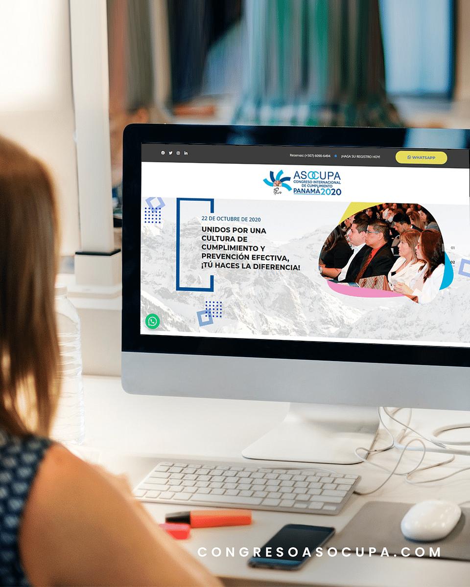 Diseño de Sitio Web ASOCUPA 2020