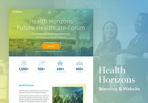 Health Horizons - Creación de Sitios Web