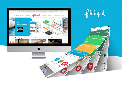 application et site FILALAPAT - Application web