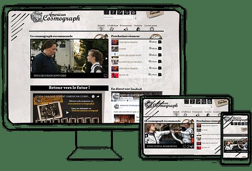 Création d'un site avec gestion de séances - Création de site internet