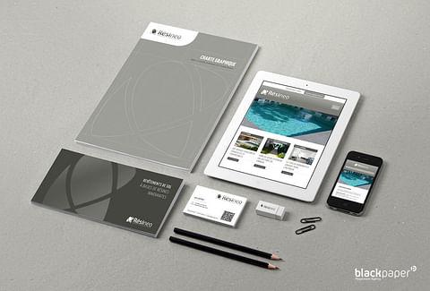 Visual identity, web and print