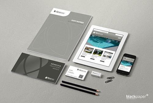 Visual identity, web and print - Design & graphisme