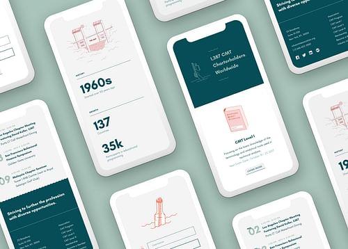 Branding & Web Design for Global Credential Body - Website Creation