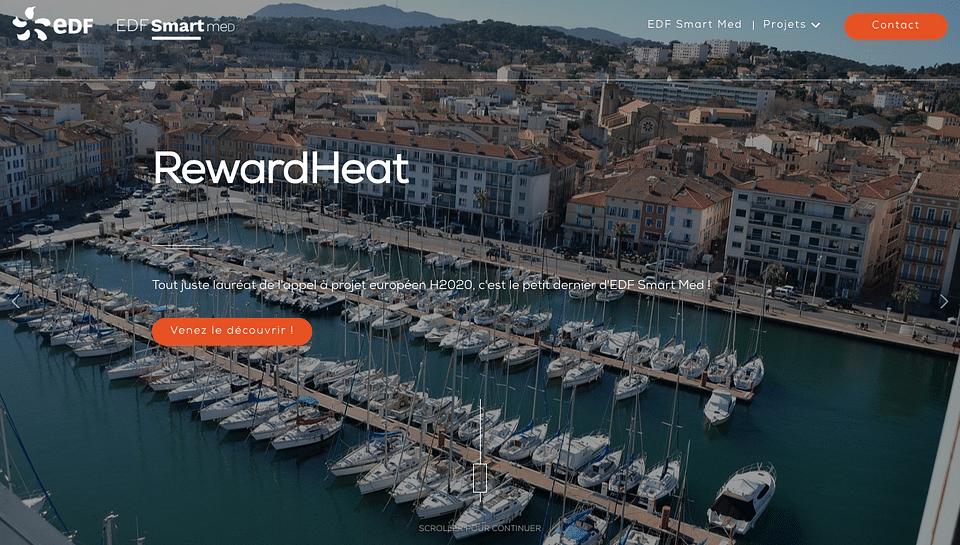Site web Smartmed - EDF