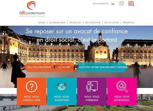 AFC LEDERMANN - Création de site internet