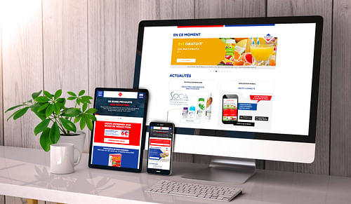 Site institutionnel responsive Leader Price - Création de site internet