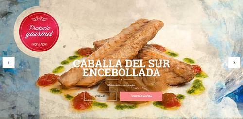 Ecommerce para ventas de Conservas de Pescado - Creación de Sitios Web