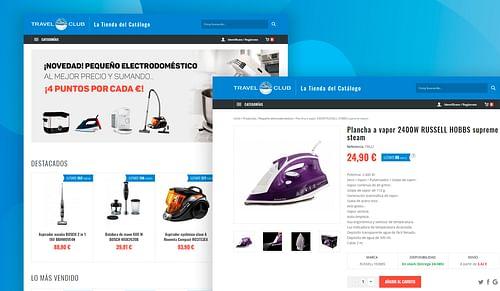 Custom Ecommerce (Symfony) - E-commerce