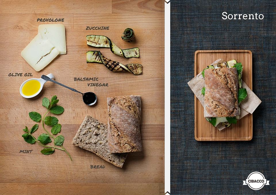 Food Photography for CIBACCO
