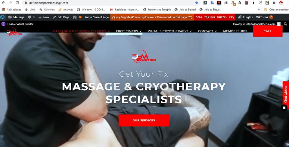 Definition Sports Massage