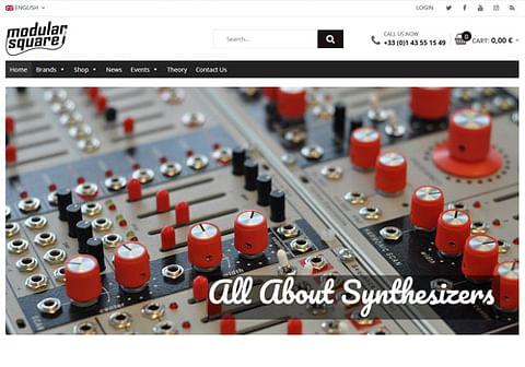 Création Site WooCommerce Vente de Synthétiseurs
