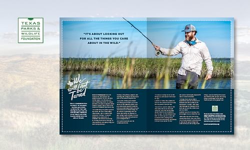 Texas Parks and Wildlife Foundation Ad Campaign - Advertising
