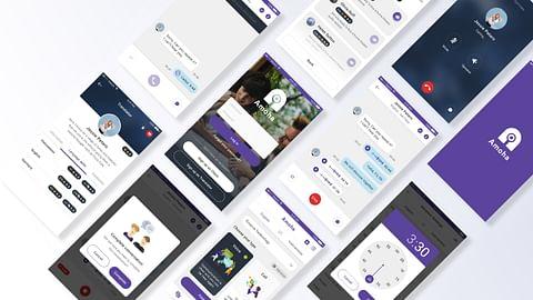 Wep & Mobile App: Amoha  - Booking interpreter