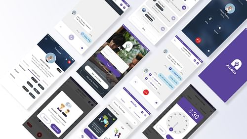 Wep & Mobile App: Amoha  - Booking interpreter - Mobile App