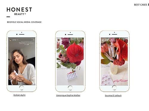 Honest Beauty send-out // Bonding - Öffentlichkeitsarbeit (PR)