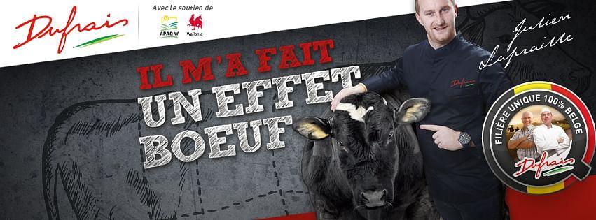 Dufrais - Campagne Effet Boeuf 2015-2016