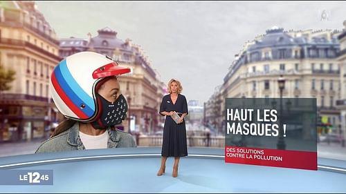 R-PUR, leader du Masque antipollution Connecté - Image de marque & branding