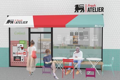 Delhaize - launch Fresh Atelier - Réseaux sociaux