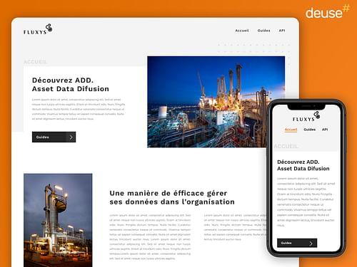 Application web de consultation de données - Web Applicatie