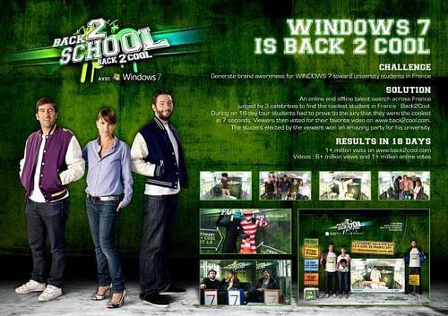 BACK2COOL - Publicité