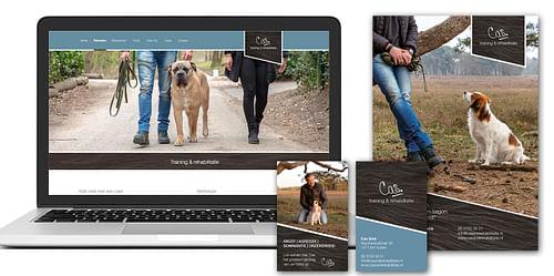 Restyling huisstijl Cas Training & Rehabilitatie - Website Creatie
