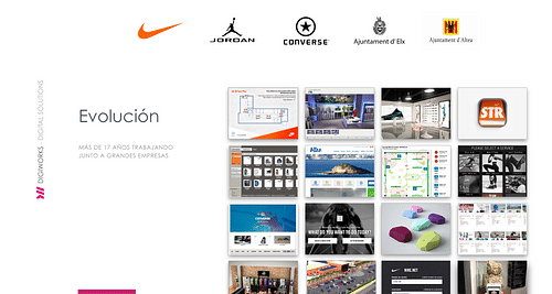 Soluciones para Nike y Converse - Estrategia digital