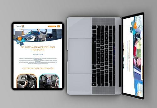 Trapmann: Website design & Advertising - Branding & Positionering