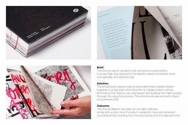 ANNUAL REPORT FOR THE SOCIETY OF GRAPHIC DESIGNERS OF CANADA 2009-2010