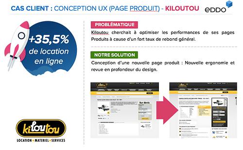 CONCEPTION UX (PAGE PRODUIT) - Ergonomie (UX/UI)