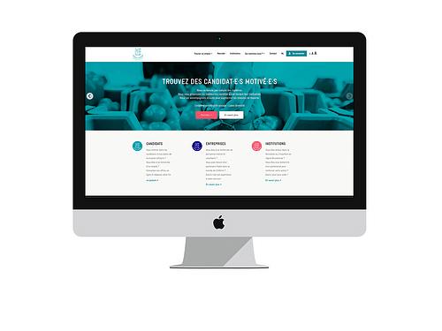 Exaris Website - Création de site internet