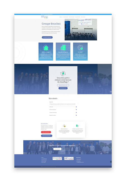 Création de site internet et stratégie SEO - Création de site internet