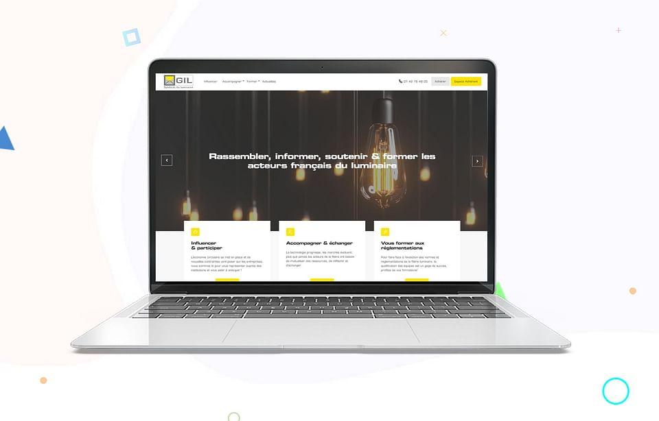 Refonte de site - GIL-Syndicat du luminaire