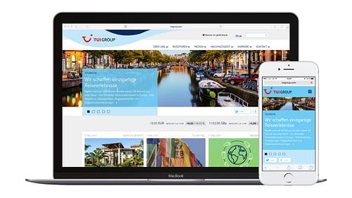 TUI Group – Website Relaunch - Motion-Design