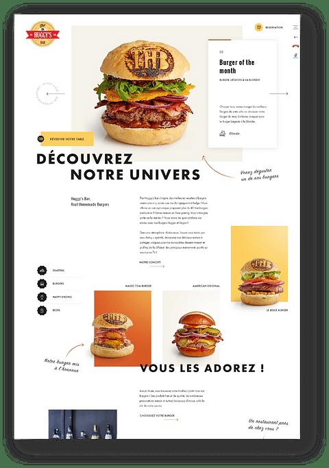 FOOD - Website creation