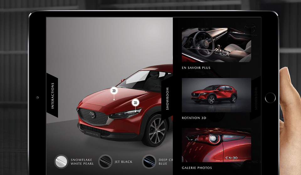 Découvrez la nouvelle Mazda CX-30 en RA/RV