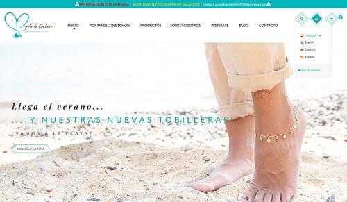 Mylittlebonheur E-Comercio Bisuteria Madrid - Estrategia digital