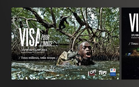 L'armée de Terre au Festival «Visa pour l'image»