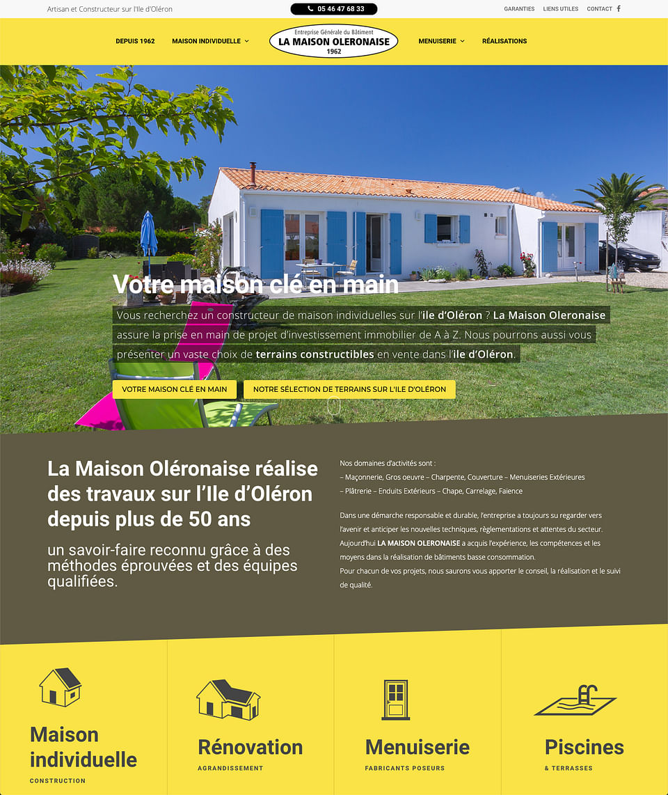 Site internet administrable