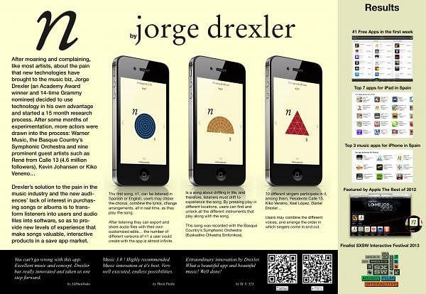 N BY JORGE DREXLER