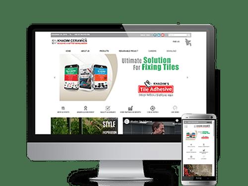 Web Site Design and Wordpress Dev. For Khadim Cera - Website Creation