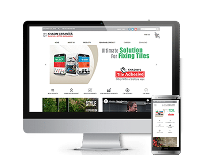 Web Site Design and Wordpress Dev. For Khadim Cera