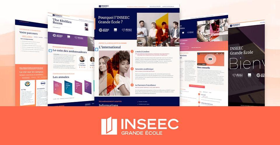 Inseec : Création site Wordpress
