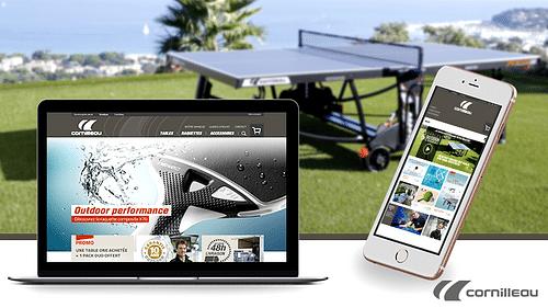 CORNILLEAU | Création multiboutique e-commerce - Création de site internet