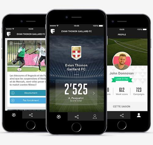 FansNation - App football - Application mobile